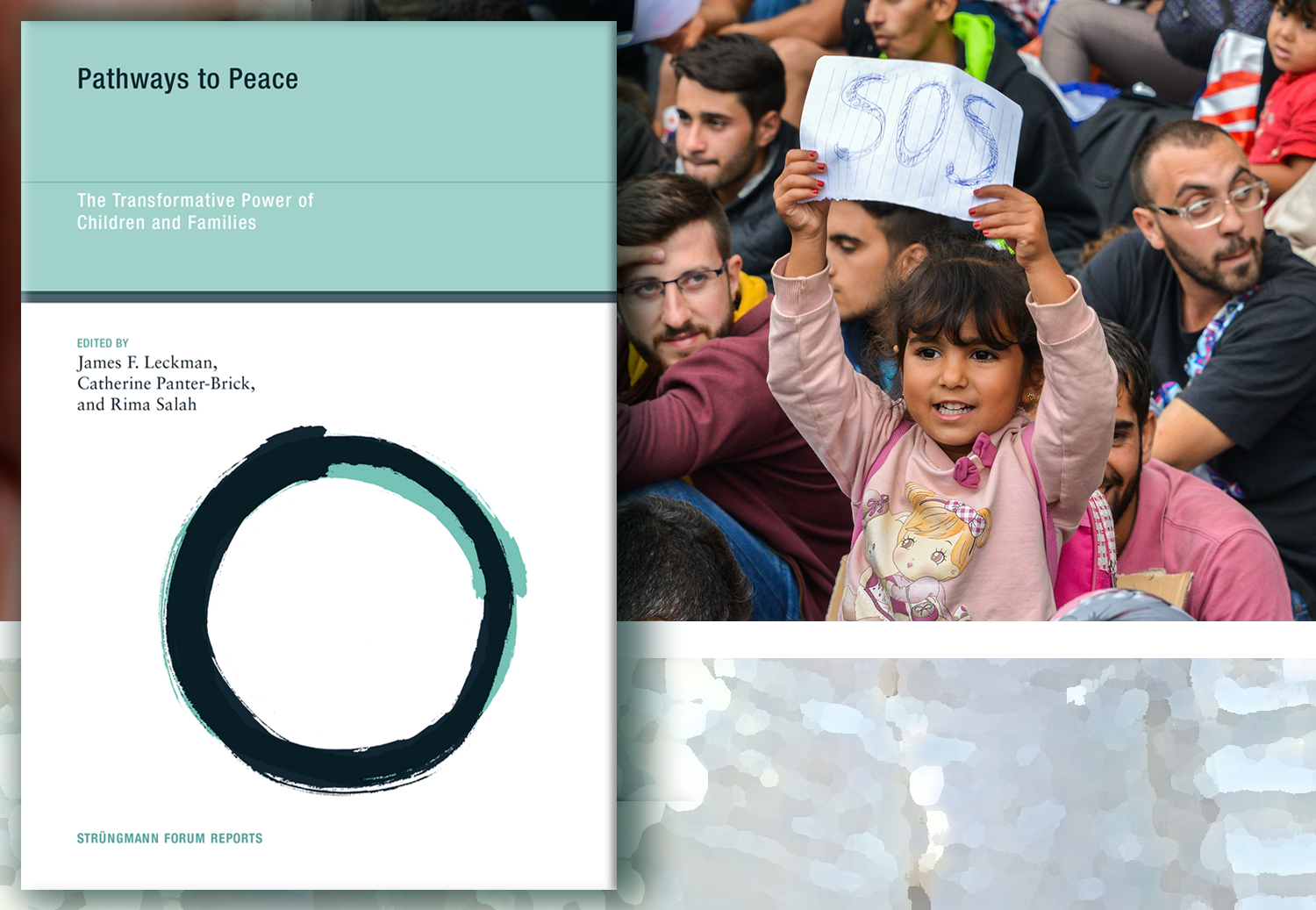 """Cover """"Pathways to Peace: The Transformative Power of Children & Families."""""""