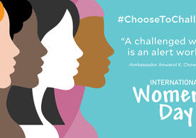 International Women's Day 2021 #ChooseToChallenge. Illustration © Sbego2000 | Dreamstime.com.