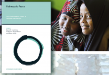 "Cover ""Pathways to Peace: The Transformative Power of Children & Families."""