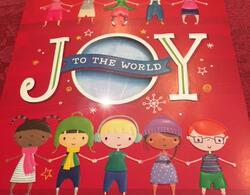 "UNICEF holiday greeting card ""Joy to the World"". Photo by Rima Salah."