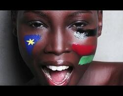"""UNICEFs """"Learning for Peace in South Sudan"""" with fashion model, Mari Malek"""